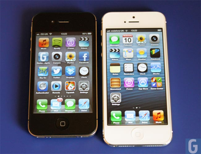 what is the difference between iphone 5 and 5c what s the difference between iphone 4s and 5 21455