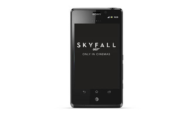 O2 UK To Offer James Bond Skyfall Edition Sony Xperia T