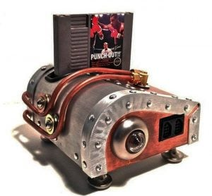 Steampunk style top-loading NES