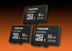 Toshiba Adds New Products to Its Memory Card Line