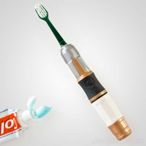 Doctor Who Sonic Screwdriver Toothbrush Debuts