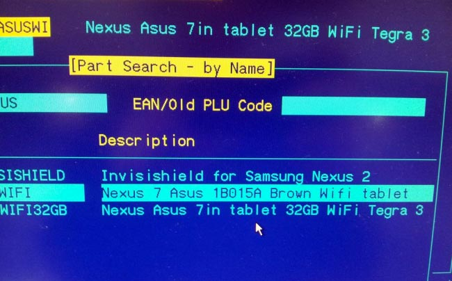 32GB Nexus 7