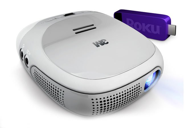 3M Roku Streaming projector