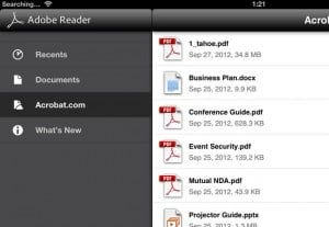 Adobe Reader Update For Android And iOS Adds Cloud Storage Support
