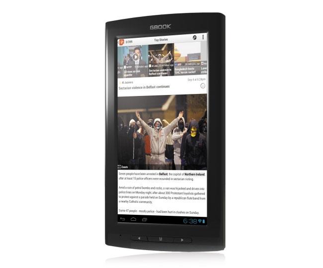 Archos Arnova GBook Android 4.0 eReader Announced