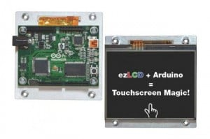 ArduinoLCD Touchscreen Modules For DIY Arduino Projects Launch