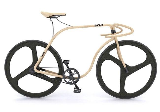 Beech wood bike Andy Martin