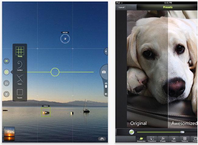 Camera Awesome iPad