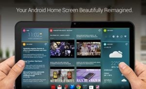 Android Chameleon Launcher 1.1.1 Now Supports Native Android Widgets