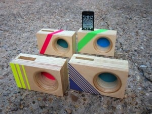 DOCK Box, The Wooden Accoustic iPhone Amplifier
