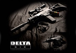 Delta Six Immersive FPS Motion Controller Unveiled (video)