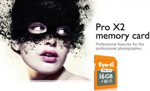 Eye-Fi Pro X2 16GB, Class 10 Wireless Memory Card Unveiled