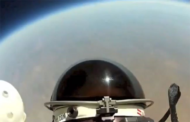 Felix Baumgartner Space Jump