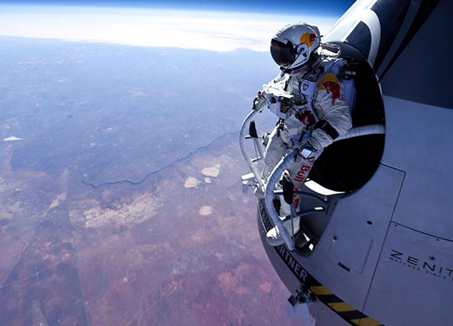 Felix Baumgartner's Supersonic Space Jump