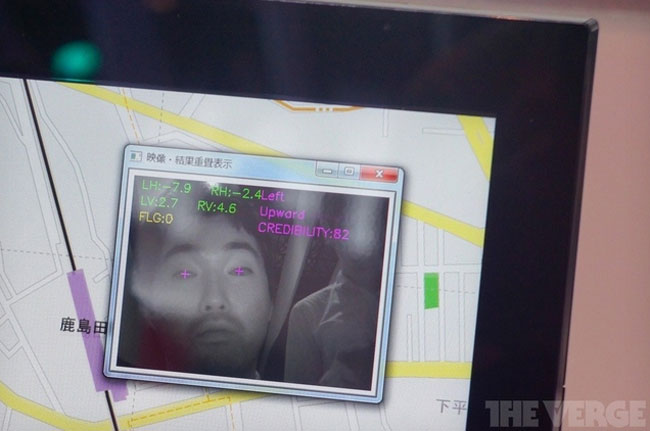 Fujitsu Eye tracking technology