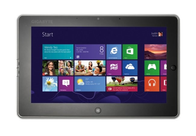 Gigabyte S1082 Windows 8 Tablet