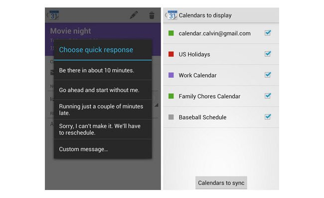 Google Calendar App Now Supports All Android 4 0+ Devices
