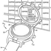 Google Patents Smartwatch With Flip Up Augmented Reality Display