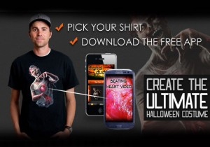 Halloween Costume App Adds Awesome Digital Special Effect To Your Outfit (video)