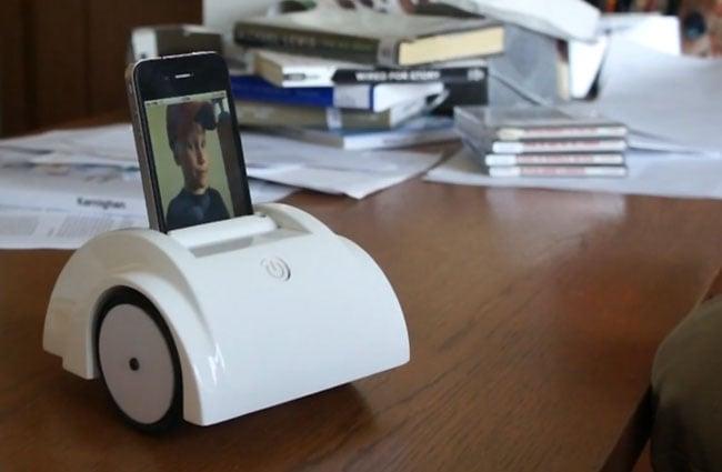 Helios iPhone Telepresence Robot