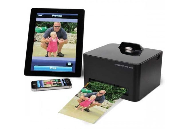 Software Recovery smartphone photo cube printer with wifi told