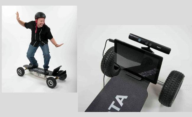 Kinect Skateboard