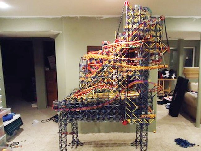 Knex Pinball Machine