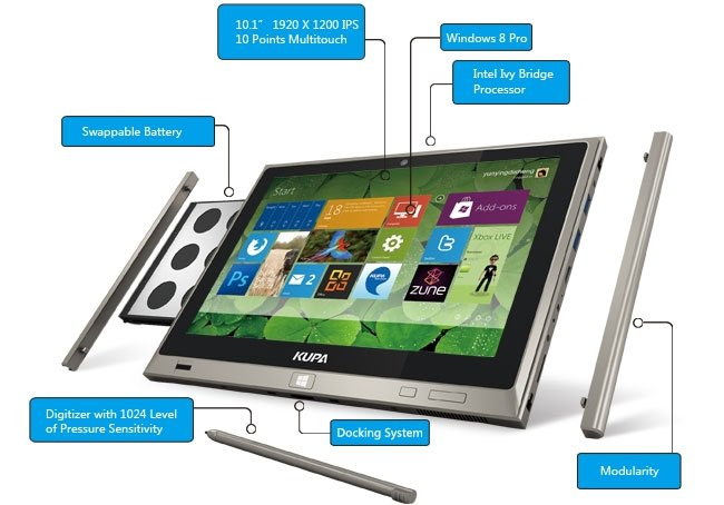 Kupa UltraNote Windows 8 Tablet