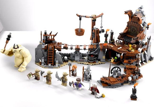 Lego Hobbit The Goblin King Battle