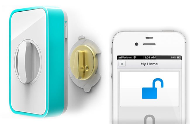 Lockitron Smartphone Door Lock Now Available To Pre Order