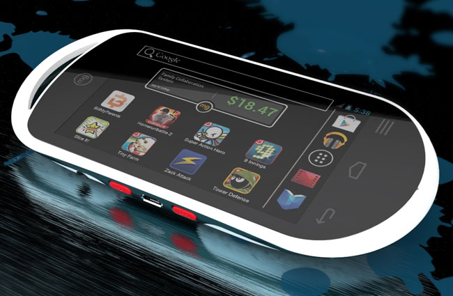 MG Android Handheld game console