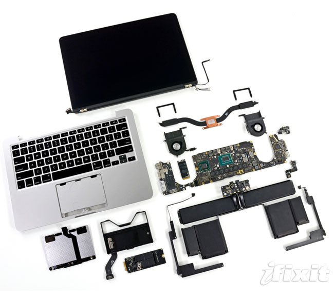 "MacBook Pro 13"" Retina Display Teardown"
