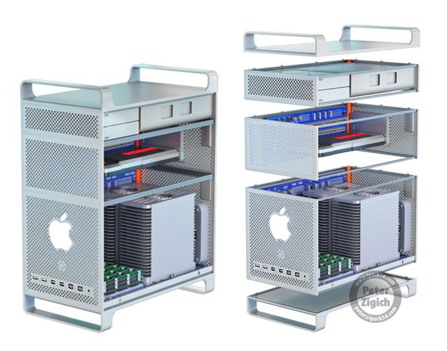 Картинки по запросу modular design mac pro
