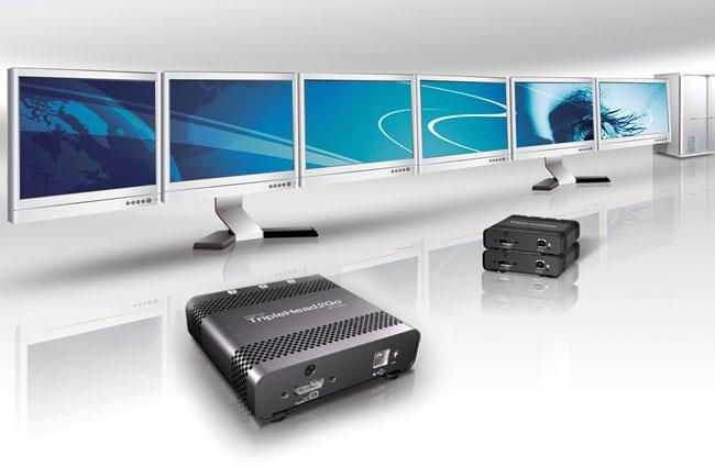 Matrox TripleHead2Go multi-monitor