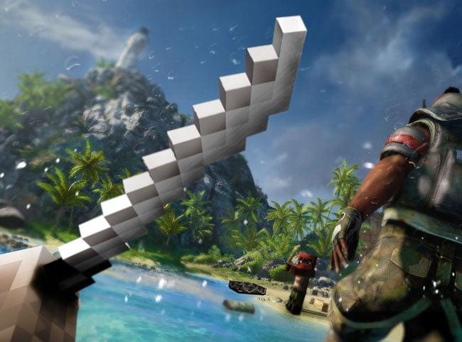 Ubisoft Announces Far Cry 3 Inspired Minecraft Mod