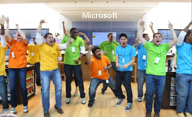 Microsoft Pop-up Stores