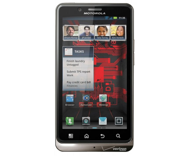 Verizon Motorola Droid Bionic Gets Android 4.0 ICS Update