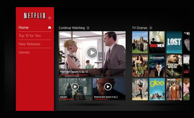Netflix Windows 8