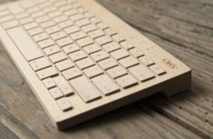Orée Wireless Wooden Keyboard
