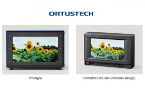 Worlds Smallest Ultra HD 4K Display Measuring Just 9.6 Inches Unveiled By Ortustech