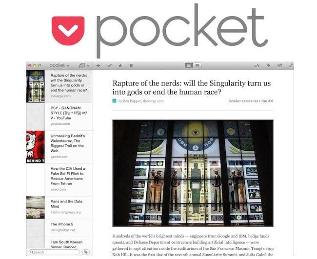 Pocket For Mac