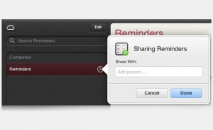 Shared Reminders Arrive Online Via Apple's iCloud.com Website