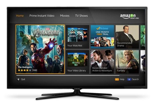 Smart TV Amazon Instant