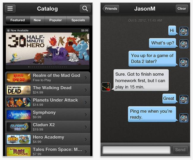 Steam iOS App