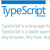 Microsoft Introduces TypeScript Programming Language (video)