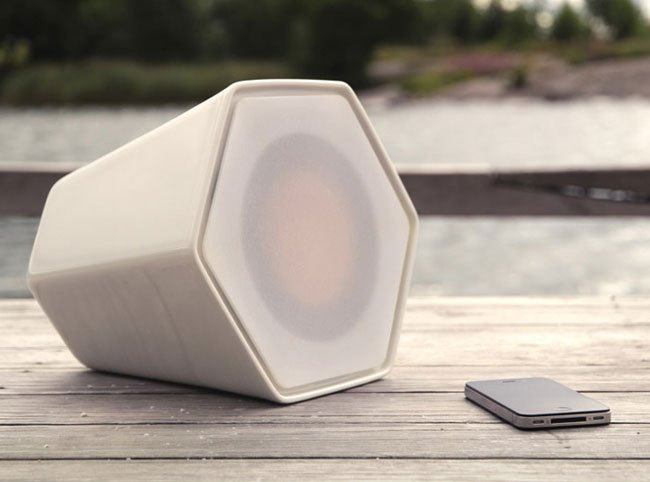 Unmonday 4.3L Independent Ceramic Airplay Speaker