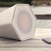 Unmonday 4.3L Independent Ceramic Airplay Speaker (video)