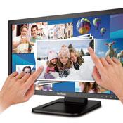 Viewsonic TD2220 Dual Point Touchscreen Optical Display Announced