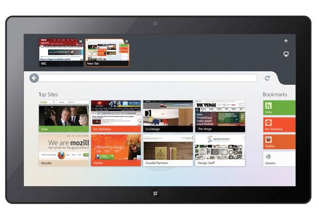 Windows 8 Firefox