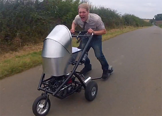 World Fastest Baby Stroller
